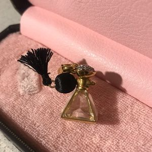Juicy Couture perfume bottle charm